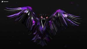 Artistic Bird Digital Art Raven 2560x1440 Wallpaper