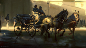 Carriage Horse Drawn Vehicle 1920x1080 wallpaper