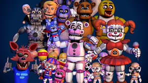 Video Game Five Nights At Freddy 039 S 3740x2646 Wallpaper