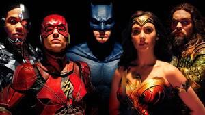Aquaman Batman Ben Affleck Cyborg Dc Comics Ezra Miller Flash Gal Gadot Jason Momoa Justice League 2 2000x1624 wallpaper