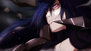 Blue Hair Long Hair Madara Uchiha Man Ninja Rinnegan Naruto Uchiha Clan 1920x1080 wallpaper
