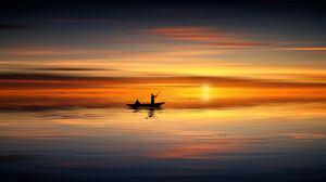 Artistic Sunset 5416x3046 Wallpaper