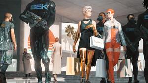 Artwork DOFRESH Science Fiction Weapon Futuristic Science Fiction Women 2020 Year 2048x872 Wallpaper