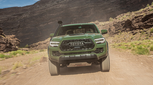 Car Green Car Pickup Toyota Toyota Tacoma Vehicle 5238x3492 Wallpaper