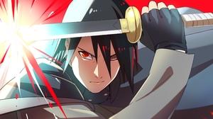 Black Hair Man Rinnegan Naruto Sasuke Uchiha Sharingan Naruto Sword 3840x2160 Wallpaper