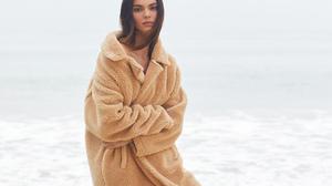 Kendall Jenner Women Model Women Outdoors Brunette Long Hair 1920x1280 wallpaper