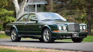 Bentley Continental R Millenium Edition Car Coupe Green Car Luxury Car 1920x1080 Wallpaper