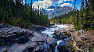 Landscape Mountain Nature Canada National Park Banff National Park 3000x1975 Wallpaper