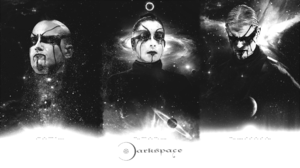 Black Metal Space Collage Ambient Extreme Metal Metal Music Metal Band 1920x1080 Wallpaper