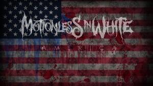 Motionless In White Metalcore Band Logo 1280x800 Wallpaper