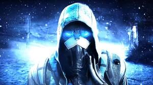 Snow Robot Killzone Shadow Fall Killzone Cyan Blue 1914x896 Wallpaper