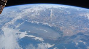 Satellite Satellite Imagery NASA USA California Clouds North America Continents Planet Mountain Chai 1920x1080 Wallpaper