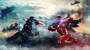 Captain America Iron Man 1920x1080 wallpaper