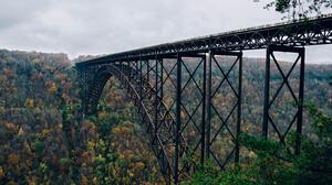 Bridge Canyon Fayetteville Forest Arch North Carolina 4705x3116 Wallpaper