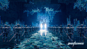 Ghostrunner Video Games Cyberpunk Science Fiction Screen Shot Katana Weapon Hologram Futuristic Cybo 3840x2160 Wallpaper