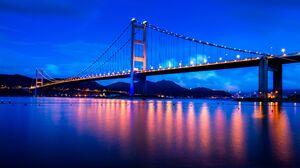Man Made Tsing Ma Bridge 7235x4870 Wallpaper