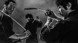 Samurai Warrior 2048x879 Wallpaper