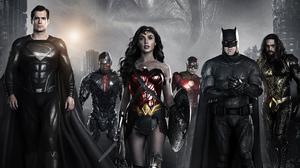 Aquaman Barry Allen Batman Cyborg Dc Comics Dc Comics Diana Prince Flash Justice League Superman Won 5120x2880 Wallpaper