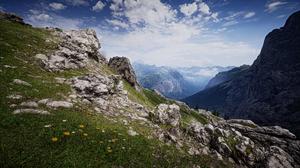 Battlefield 1 Mountain Rock Scenery Sky 2560x1440 Wallpaper