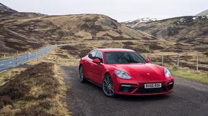 Car Porsche Porsche Panamera Porsche Panamera Turbo Red Car Sport Car Vehicle 4096x2718 Wallpaper