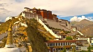 China Potala Palace Tibet 2560x1575 wallpaper
