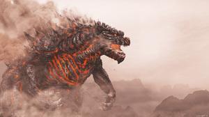 Godzilla 5100x2880 wallpaper