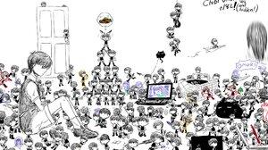 Omori Video Game Sunny Omori Aubrey Omori Omori Character Boy Girl Cat Chibi Kel Omori Hero Omori Do 2048x1306 Wallpaper