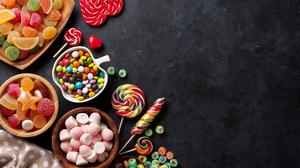 Candy Lollipop Still Life Sweets 5616x3744 wallpaper