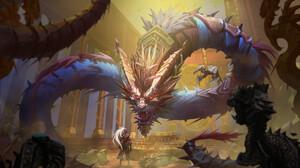 Dragon Warrior 1920x1104 Wallpaper