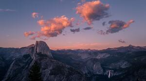 Landscape Clouds Yosemite National Park USA 4000x2250 Wallpaper