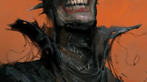 The Batman Who Laughs Batman DC Comics Laughing Comic Art 1686x2336 Wallpaper