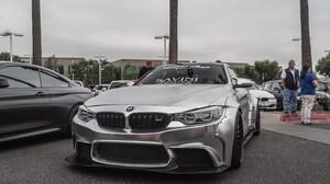 BMW M4 LB Performance LB Works Car Low Vossen Street Carninja BMW F80 F82 F83 2560x1707 Wallpaper