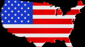 American Flag Flag Map 8000x5070 Wallpaper