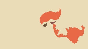 Minimalist Ponyta Pokemon 1920x1080 Wallpaper