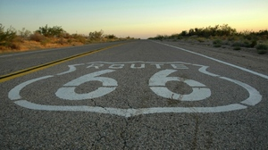 Road Route 66 1920x1080 Wallpaper