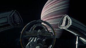 Space Port Olisar Star Citizen 3840x2160 Wallpaper