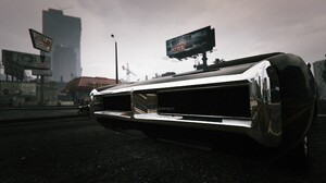 Car City Grand Theft Auto V Reflection Vehicle 3840x2160 wallpaper