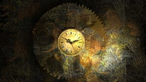 Clocks Clockworks Vintage Roman Numerals Watch Gears Time 1920x1200 Wallpaper