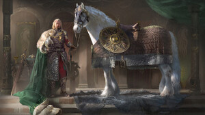 Fantasy Art Artwork Digital Art The Lord Of The Rings Middle Earth Theoden 3840x2426 wallpaper
