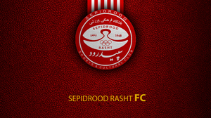 Emblem Logo Sepidrood Rasht S C Soccer 3840x2400 Wallpaper