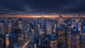 Building City Cityscape New York Skyscraper Usa 1920x1080 Wallpaper