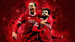 Mohamed Salah Soccer Virgil Van Dijk 2880x1800 Wallpaper