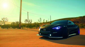 Need For Speed Need For Speed Payback Car Infiniti Black Cars Tuning Vehicle Video Games 1920x1080 Wallpaper