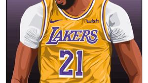 Basketball Baskets Bucket Anthony Davis LeBron James Entertainment Sport Artwork Digital Art Men Spo 1500x3100 Wallpaper