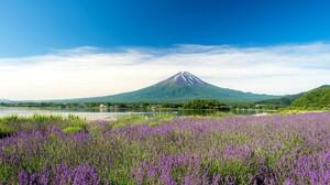 Japan Mount Fuji Volcano 2048x1344 Wallpaper