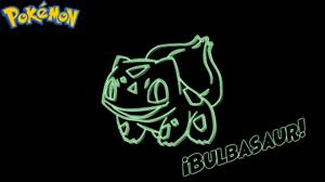 Bulbasaur Pokemon Neon Pokemon 1920x1080 Wallpaper
