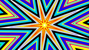 Abstract Artistic Colorful Colors Digital Art Kaleidoscope Shapes Star 1920x1080 Wallpaper