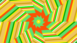 Artistic Digital Art Colorful Lines Shapes Geometry 1920x1080 wallpaper