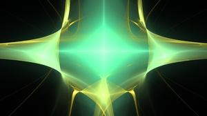Fractal Fractal Flame Symmetry Ultrawide Mathematics Futuristic 5760x2400 Wallpaper