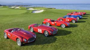 Car Ferrari Golf Course Race Car Red Car Sport Car Vehicle 3600x2400 wallpaper